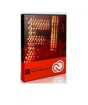 Software, Adobe Flash Professional CC, 1 user, 1 year (65224721BA01A12)