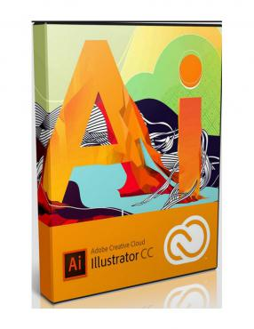 Software, Adobe Illustrator CC, 1 user, 1 year (65224735BA01A12)