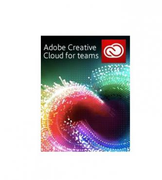 Software, Adobe Creative Cloud for teams, 1 user, 1 year (65206820BA01A12)