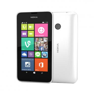 "Microsoft Lumia 620, бял, 3.8"" (9.65 cm) екран, дву-ядрен Qualcomm Snapdragon S4 1GHz, 512MB RAM, 8GB Flash памет (+microSD слот), 5Mpix & 0.3Mpix camera, Windows Phone 8, 127g"
