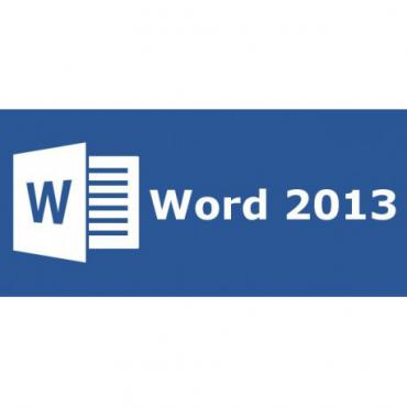 Word 2013 32 bitx64 English Medialess