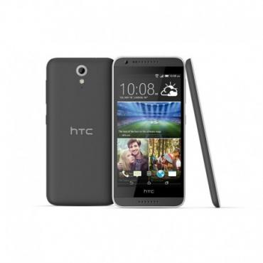 HTC Desire 620 Matte Grey Light Grey trim