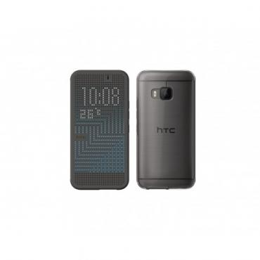 HTC Dot View Ice Premium for One M9 Dark Gray