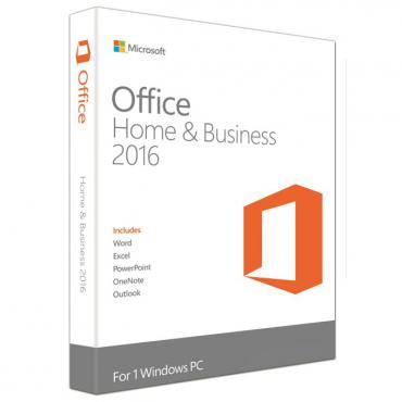 MS Office Home and Business 2016, English, 1г. абонамент (само ключ за активация)