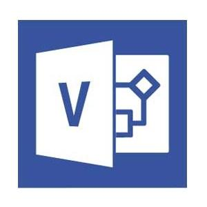 Software, Microsoft® Visio Std 2016, Win English Medialess (D86-05555)