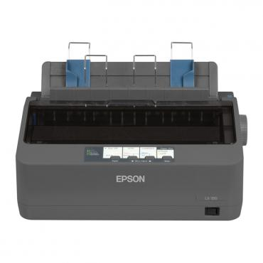 Epson LX-350 матричен принтер, 9pin/80col/357cps, Parallel & USB, 1 г.