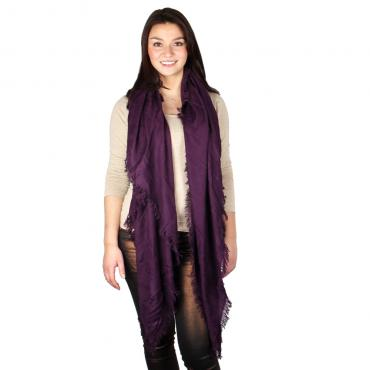 Supertrash ST Shawl - Grape