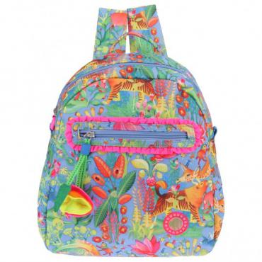 Oilily Animal Tope Backpack - Blue