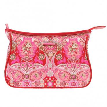 Oilily Summer Mosaic L Cosmetic Bag - Strawberry
