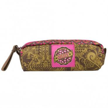 Oilily Graphic Land S Pencil Case - Khaki