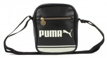 PUMA Campus Portable - Black-Silver Birch