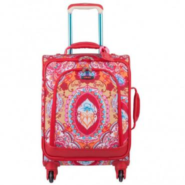 Oilily Travel Lotus S Trolley Spinner - Red