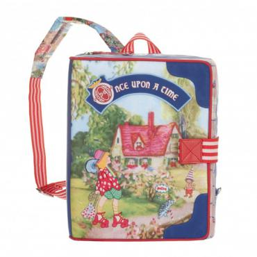 Oilily Fairy Village Square Backpack - Multicolor