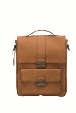 Fossil Dexter Flight Bag - Camel