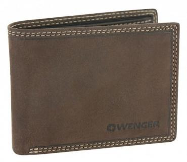 WENGER Le Rubli Scheintasche - Dark Brown