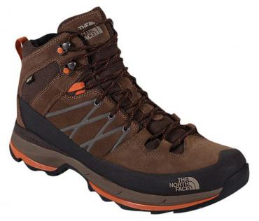 The North Face Wreck Mid Goretex Sepia Brown / Burnt Orange Man