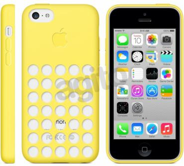 Apple iPhone 5c Case żółty
