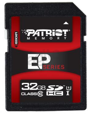 Patriot SDHC 32GB EP Series UHS-I