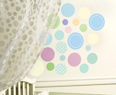 Sticker perete Baby Dots