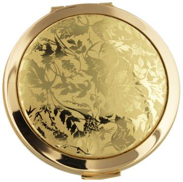 Stratton Heritage Coll Dual Mirror 70mm Lorelei Gilt