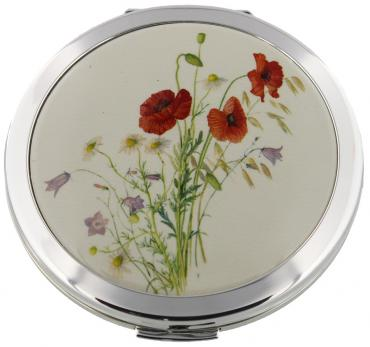 Stratton Heritage Coll Compact Mirror 70mm Poppy
