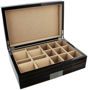 Stratton Wooden Box Holds 8 Watches
