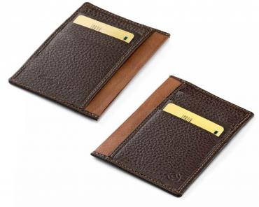Montegrappa Vertical Pocket Case 3+3 CC Brown & Caramel