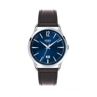 Henry London Knightsbridge Watch - Black/Silver