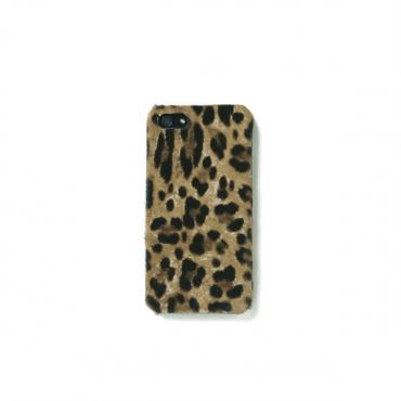 The Case Factory Women's iPhone 5 Case - Pony Leopard Camel