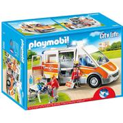 Playmobil City Life Ambulance with Light and Sound (6685)