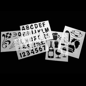 Securit Chalk Board Stencils (Pack of 5)