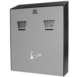 Powder-Coated Wall-Mounted Cigarette Bin
