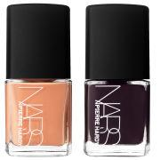 NARS Pierre Hardy Sharplines - Limited Edition Peach and Burgundy Polish