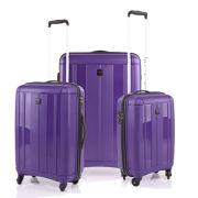 Redland 3 Piece Luggage Set - Purple