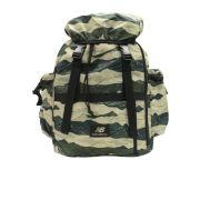 New Balance Men's AOP Backpack - Bronze/Green