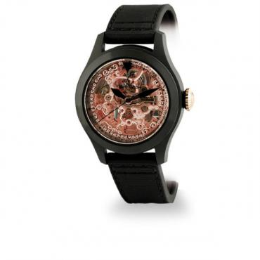 ToyWatch Toy2fly Skeleton Watch - Black